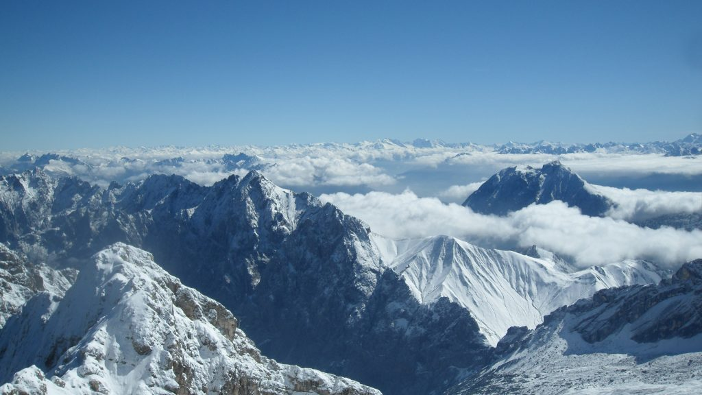 austrian alps panoramic